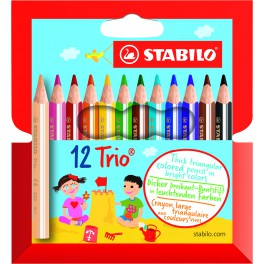 Набор STABILO Trio thick short