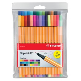 Набор капиллярных ручек STABILO point88  20 цветов