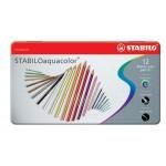 Набор STABILO Aquacolor в мет,