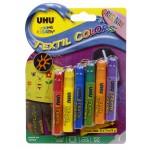 Средство для росписи по ткани UHU Textil Colors 6*7 мл