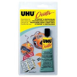 """Клей UHU """"Креатив"""" для пенополистирола и фольги"""