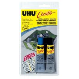 """Клей UHU """"Креатив"""" для металла, стекла и керамики"""