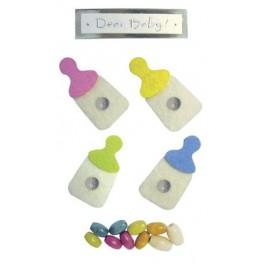 Наклейки Creative 3d Бутылочки С Молоком