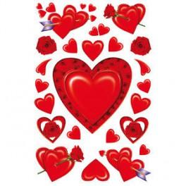 Наклейки Magic Шелковое Сердце