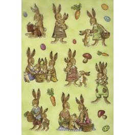 Наклейки decor пикник у зайцев