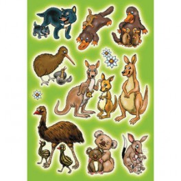 Наклейки magic австралийские животные