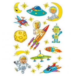 Наклейки magic астронавт