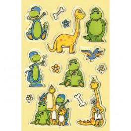 Наклейки magic динозаврики