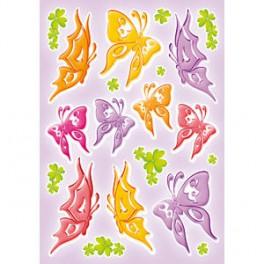 Наклейки magic ажурные бабочки