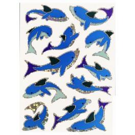 Наклейки magic дельфины (гологр.)