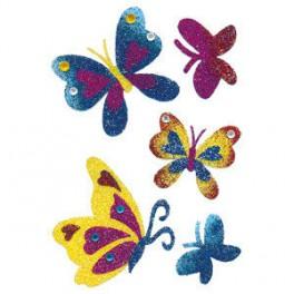 Наклейки magic бриллиантовая бабочка