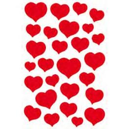 Наклейки Magic Алые Сердца