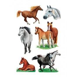 Наклейки decor лошади (рисунок)