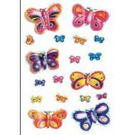 Наклейки magic бабочки 3d