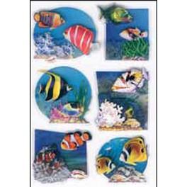 Наклейки magic аквариум 3d