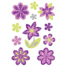 Наклейки magic бриллиантовый цветок