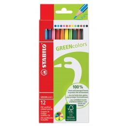 Наборы STABILO GREEN colors