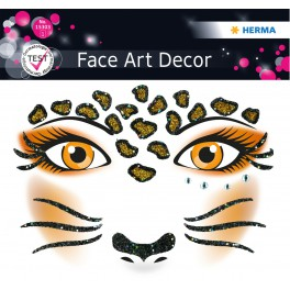 Наклейка FACE ART LEOPARD