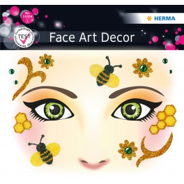 Наклейка FACE ART HONEY BEE