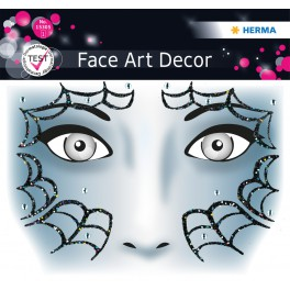Наклейка FACE ART SPIDER