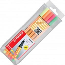 STABILO point 88 – капиллярная ручка и тонкопишущий фломастер
