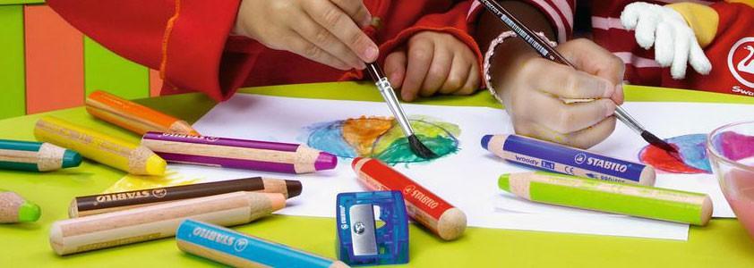 Карандаши цветные детские