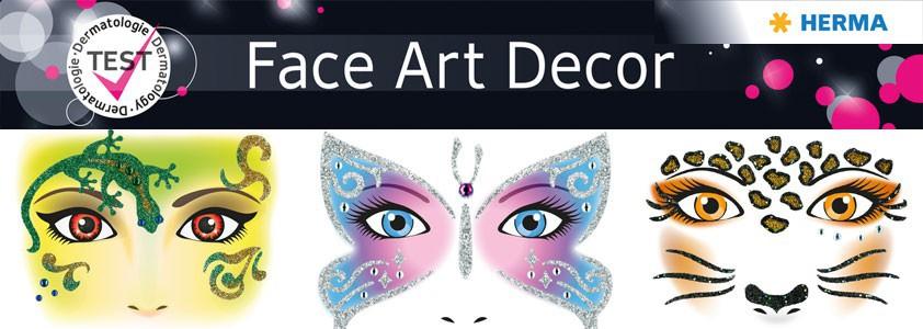 Наклейки Face ART